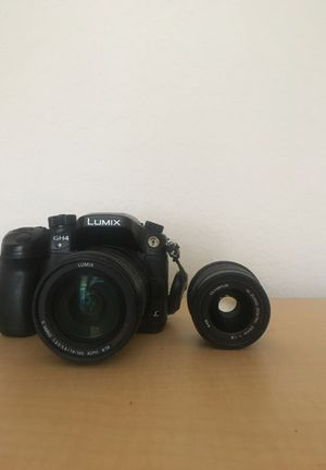 DSLR/ Panasonic GH4/ with 2 lens/ 14-140mm f/3.5, 25mm f/1.8