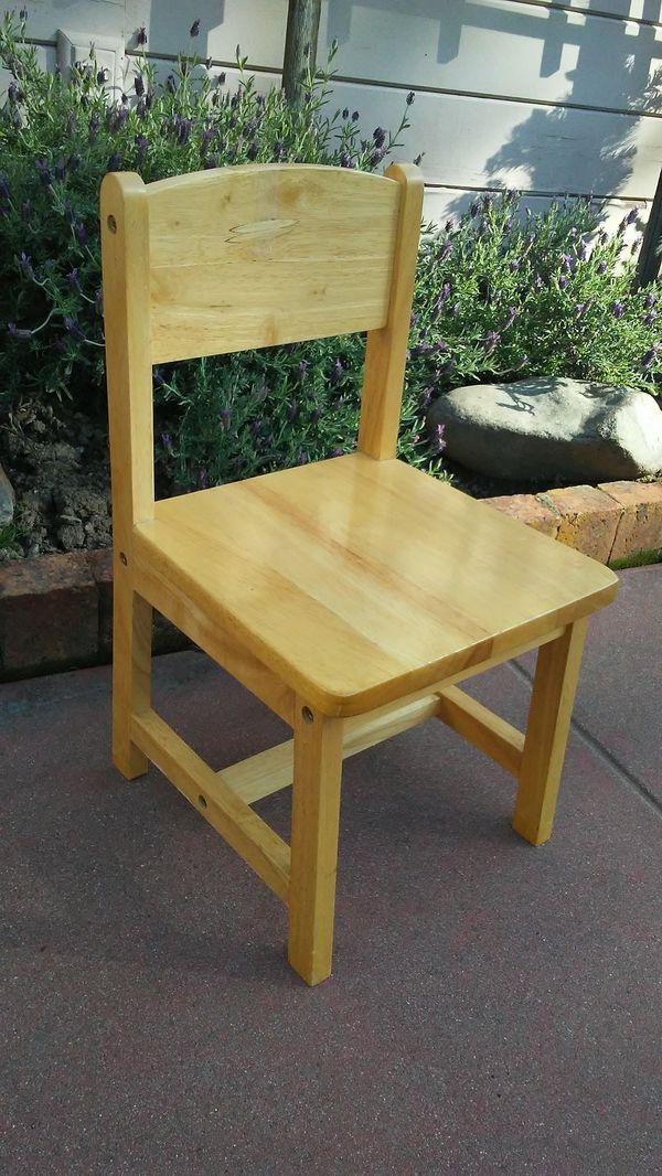 kidkraft wooden child chair baby kids in san carlos ca offerup