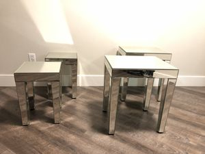 Super Cool Mirrored Tables
