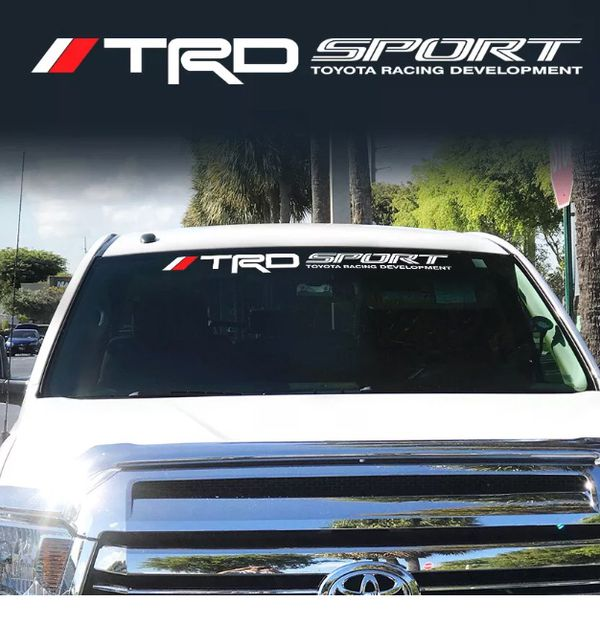 Toyota Tacoma or Tundra Windshield graphics,stickers