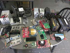 Laptops, Desktops parts, various items