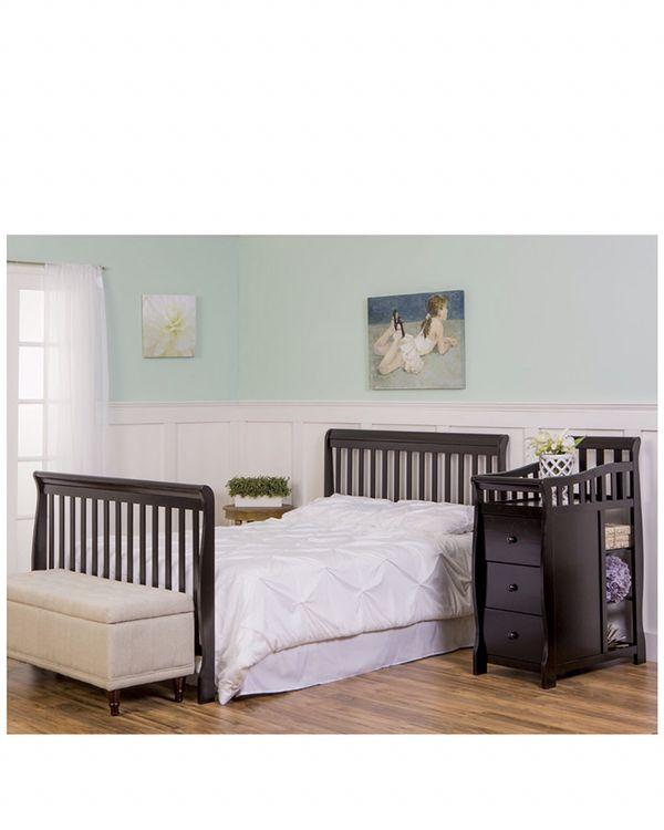 Balck 5 in one crib Baby Kids in Palo Alto CA