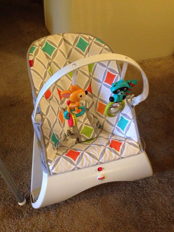 IKEA High Chair And Fisher Price Bouncy Chair Baby
