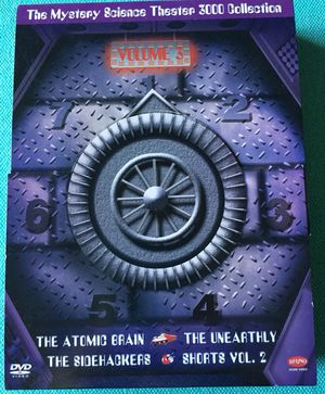 Mystery Science Theater 3000 Collection, Vol. 3 (The Atomic Brain / The Sidehackers / The Unearthly / Shorts, Vol. 2)