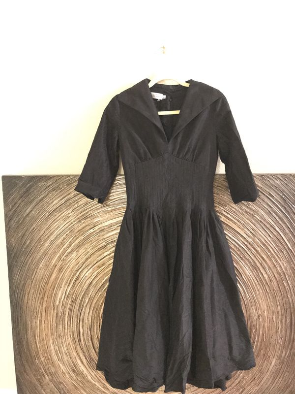 Rickie Freeman Terri Jon Dress Prom Dress Formal Black Size 4