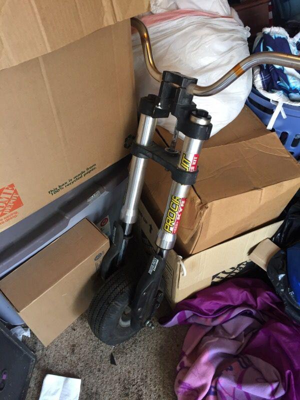 Dirt Bike Forks Came Off A Mini Bike General In Rancho Palos