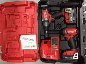 18 volt fuel hammer drill combo kit
