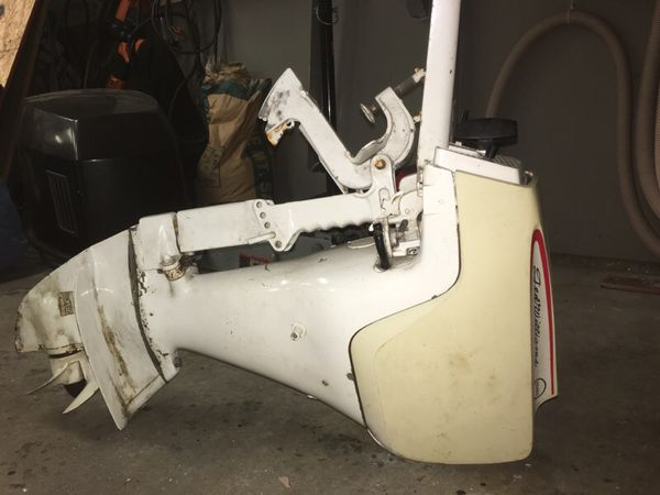 Sears ted williams 7 5 hp outboard motor tiller boats for Outboard motors for sale in delaware