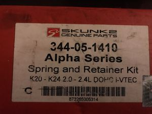 Skunk 2 spring and retainer kit