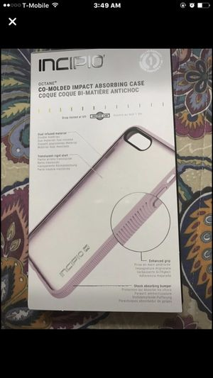 Iphone 7 plus clear back case new in box