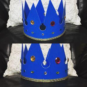 Boys crown handmade