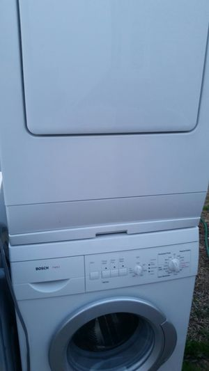 Apartment washer and dryer