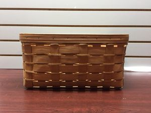 Longaberger Large Basket w/ Hooks