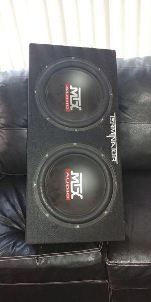 "MTX AUDIO12"" 1000 Watts subwoofer terminator"