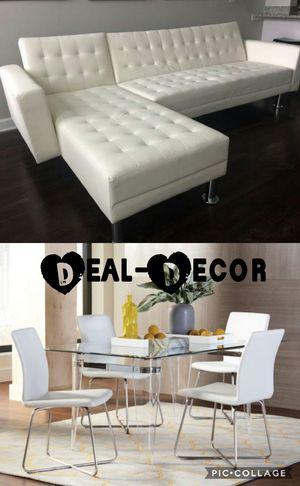 White 2 Room Combo Set