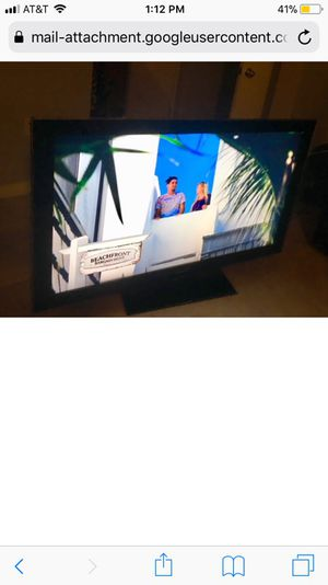 """55"""" Samsung Flat screen with remote"""