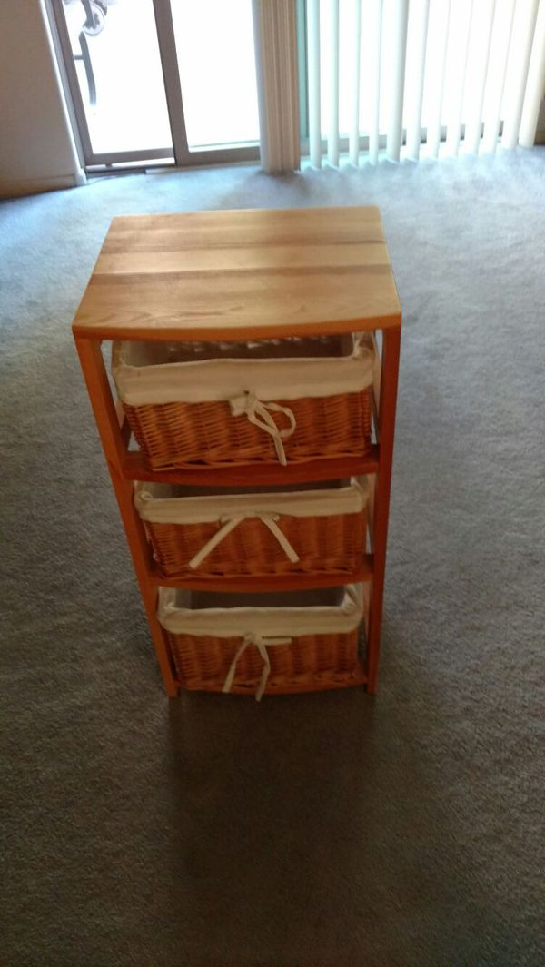 Wooden three shelve furniture in phoenix az offerup for Furniture 85050