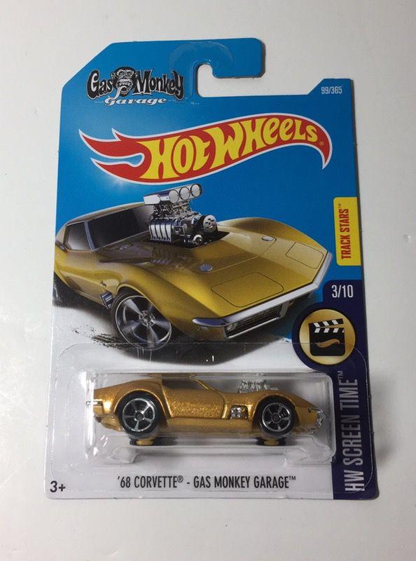 Hot Wheels Midas Monkey Gas Monkey Garage 68 Corvette