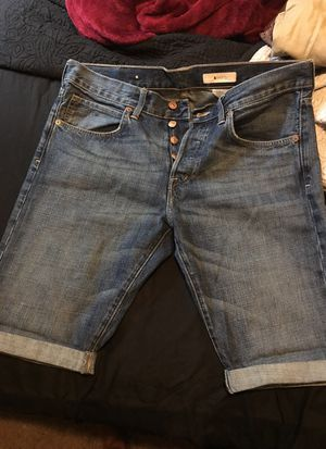 H&M men's jean shorts sz 33