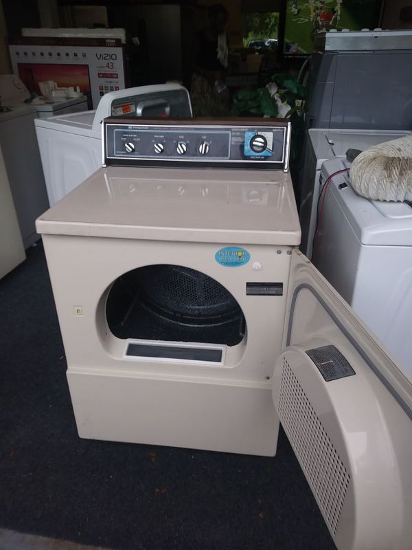 SUPER CONDITION OLD SCHOOL HEAVY DUTY HOTPOINT DRYER 3 MONTHS WARRANTY FREE IN (ALL CENTRAL FLORIDA )