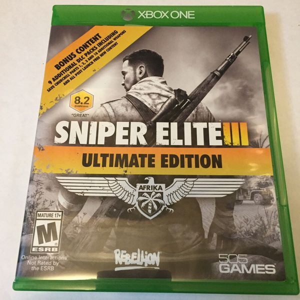Offer Up Dallas Tx >> Xbox One Sniper Elite III (Video Games) in Dallas, TX - OfferUp