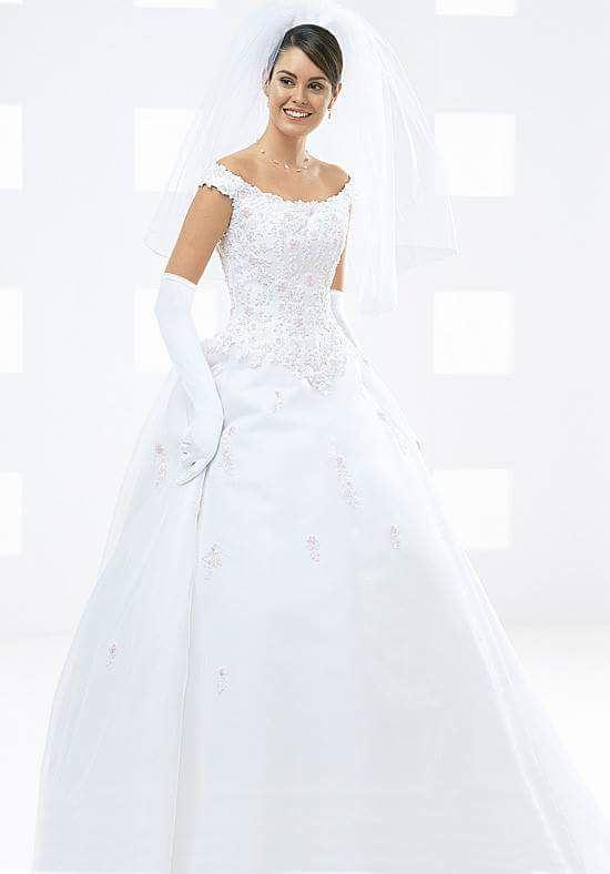 15305934bedd1 Size 22 (Real Fit Size 18-20) GORGEOUS MICHAELANGELO WEDDING DRESS (Clothing    Shoes) in Oklahoma City