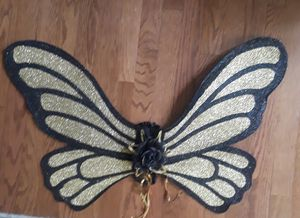Butterfly wings with straps