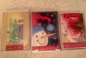 3 boxes Hallmark Christmas Cards
