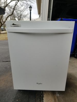 Free Whirlpool top control Dishwasher