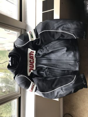 Ducati Motorcycle Leather Jacket Size 50 IT (US 40 or M) for $175 or Best Offer