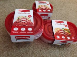 *** 3 Sets of Rubbermaid Take Alongs containers for food. Please See All The Pictures