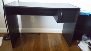 "Desk with cupboard/cabinet ~41"" across x 28"" high"