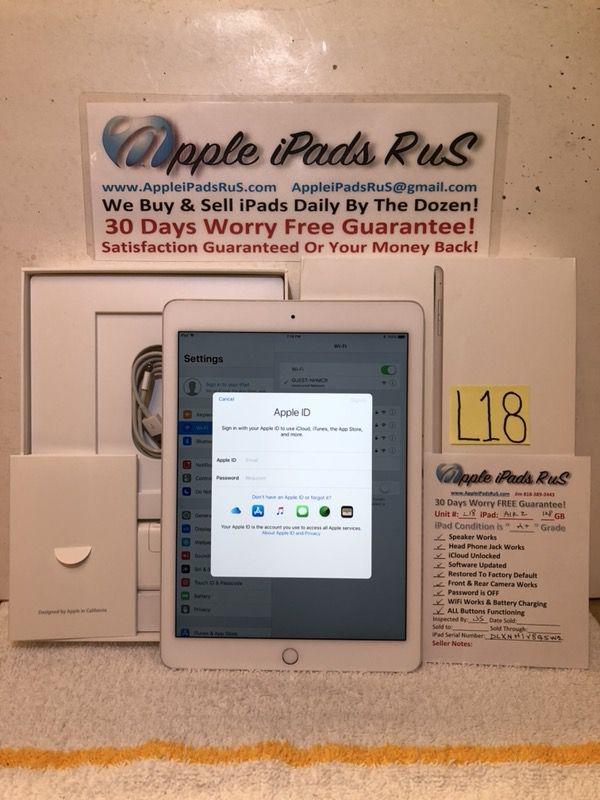 L18 - iPad Air 2 128GB