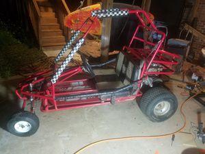 Dune buggy with nitros and new motor