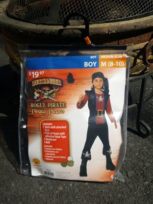 Boys Pirate Halloween Costume