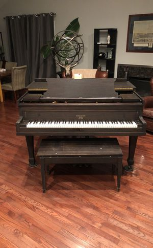 Krakauer Bros Antique Baby Grand Piano