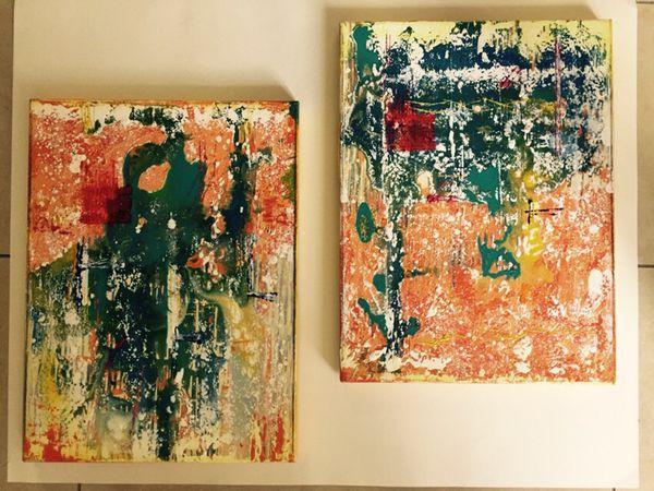 cuadros originales pintura acrlica - Cuadros Originales