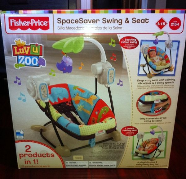 Fisher Price Space Saver Swing Instructions