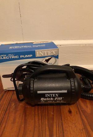 intex electric pump (for air mattresses or floats etc)