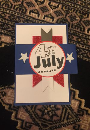Happy 4th of July greeting card for your loved ones