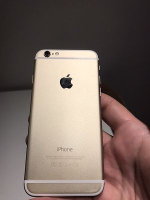 Apple iPhone 6 and 64GB Gold Unlocked