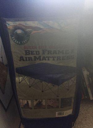 Bed Frame and Air Mattress