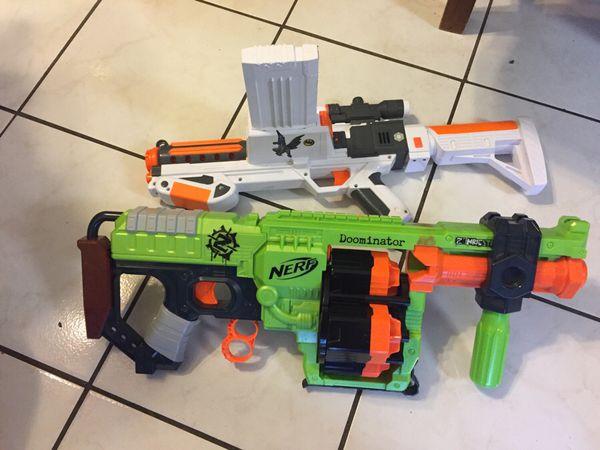Nerf air gun