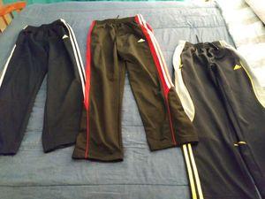 Adidas nylon sweats for boys