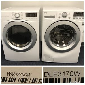 NEW LG Washer and Dryer Price Firm