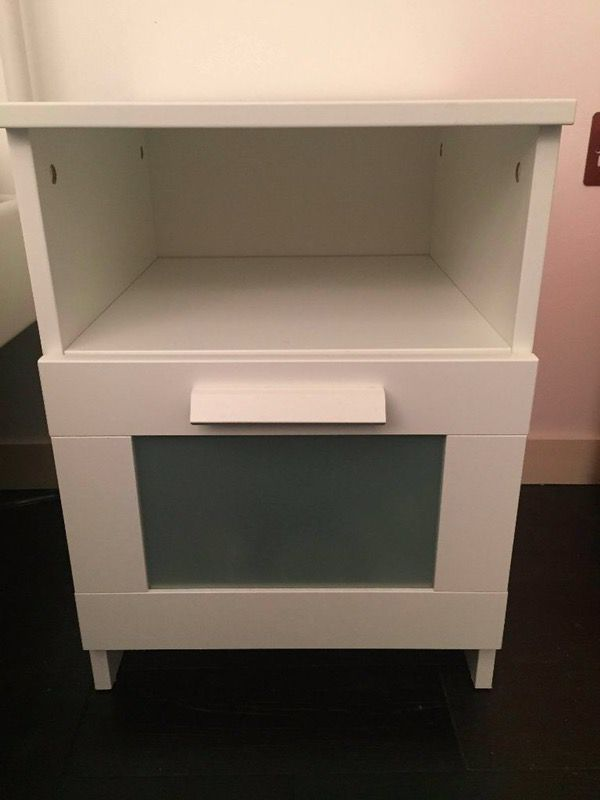 Like new ikea Brimnes nightstand  Like new ikea Brimnes nightstand Furniture  in San Jose CA. Brimnes Nightstand   Moncler Factory Outlets com