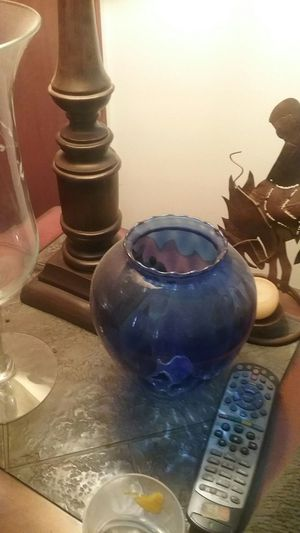 Princess House Blue Vase