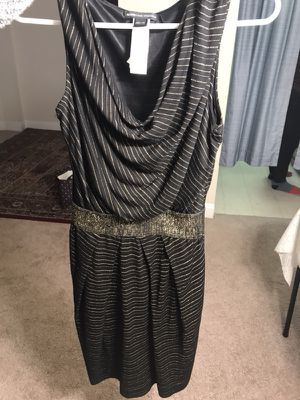 Black dress size xs