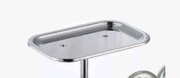Glacier Bay 2-Handle Wall-Mount Kitchen Faucet w/ Soap Dish ...