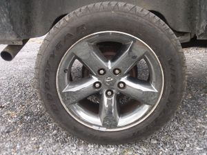 """20"""" dodge wheels with newer tires"""